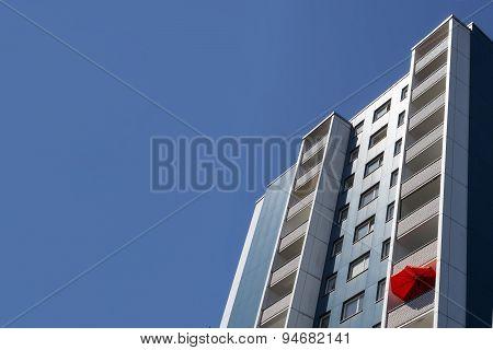 residential building facade - real estate exterior