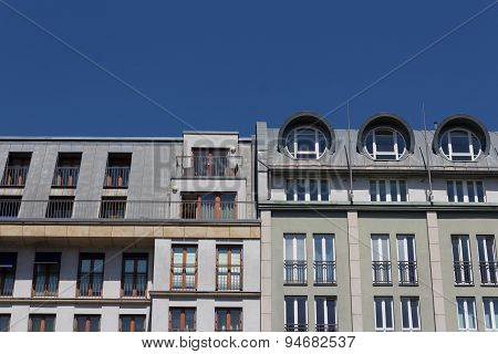 residential building facade, berlin