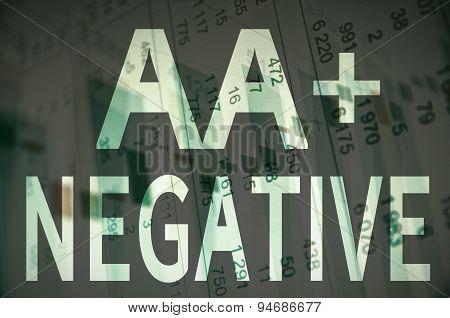 AA+ negative