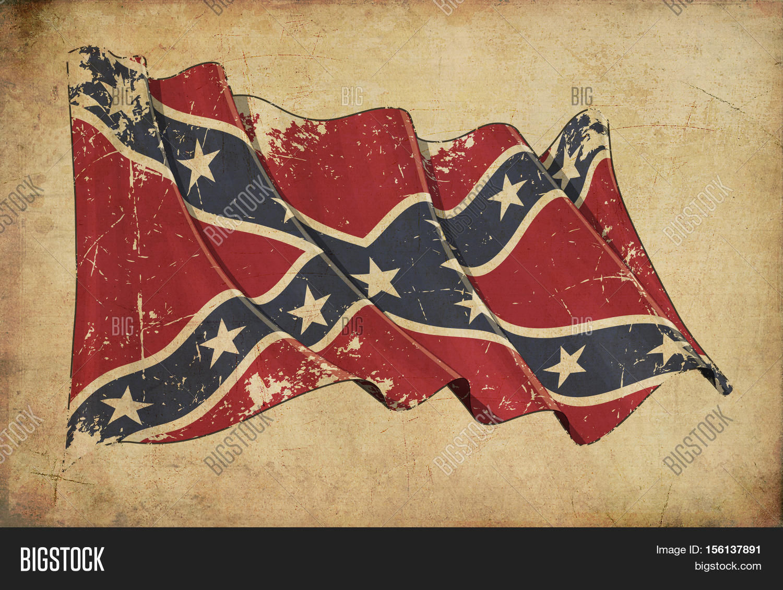 Confederate Rebel Image Photo Free Trial Bigstock