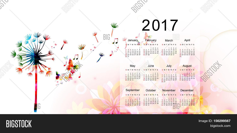 Calendar Templates Graphic Design : Calendar planner image photo free trial bigstock