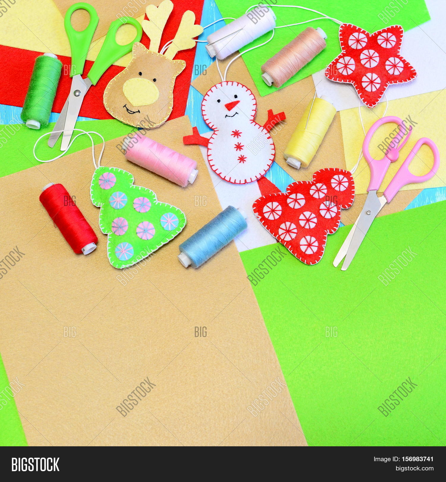 Colorful Christmas Background For Kids.Christmas Tree Image Photo Free Trial Bigstock