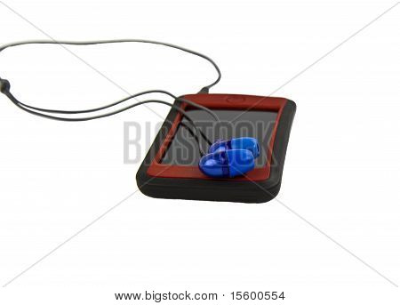 Mp3 Player And Ear Phones