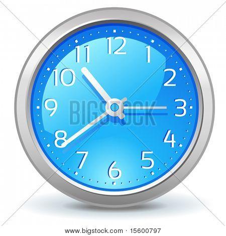 vector wall clock icon