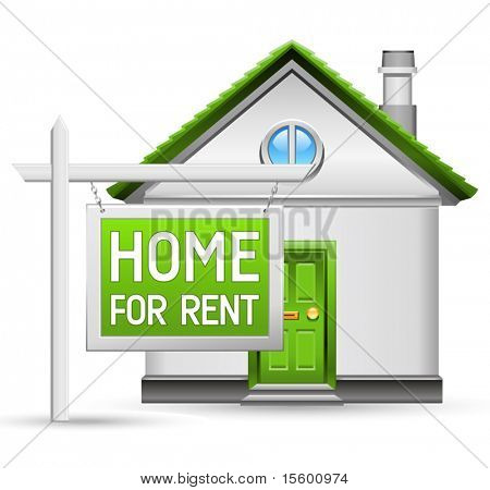 home for rent icon