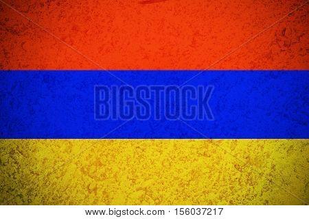 Armenia flag ,original and simple Armenia flag.Nation flag