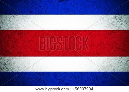 Costa Rica flag ,Original and simple Coata Rica flag.Nation flag