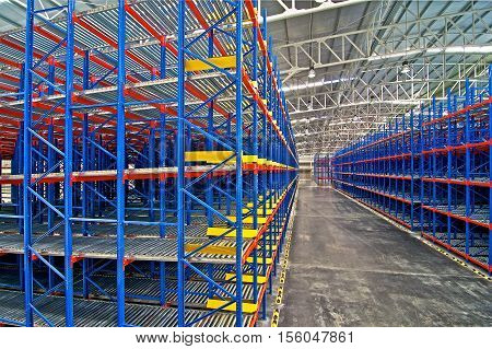 Warehouse shelving storage metal pallet racking system