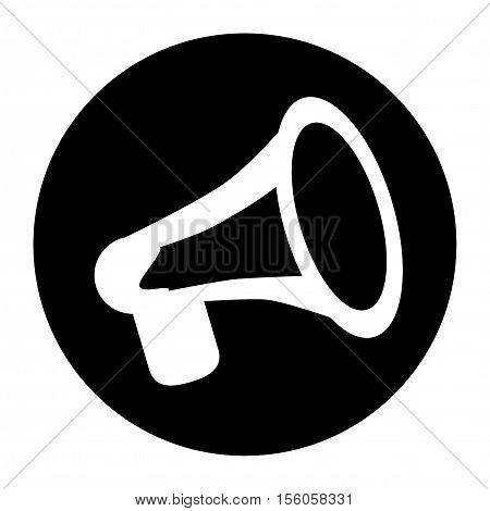 Terrorist Icon Press Conference Black Icon Vector