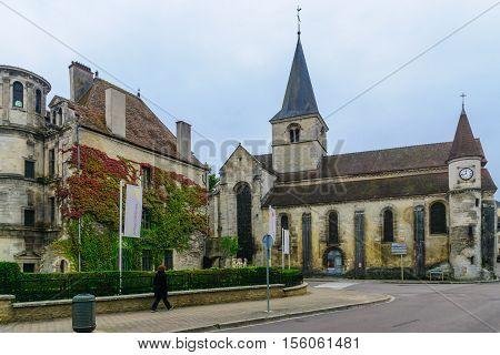 The Church Of Saint Nicholas, In Chatillon-sur-seine