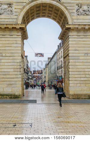 Porte Guillaume Gate, In Dijon