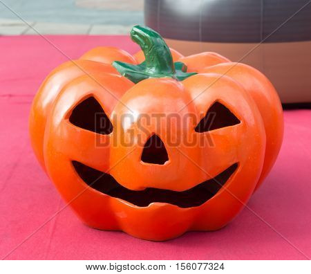 halloween pumpkin with scary face Jack O' Lantern