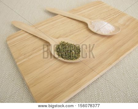 Replace to much salt with dried herbs