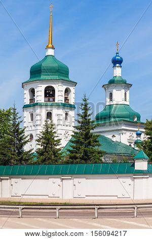Znamensky Monastery In Irkutsk