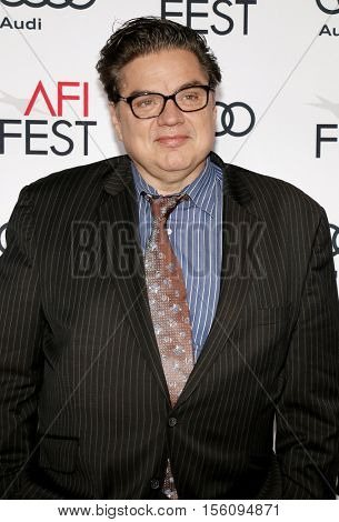 Oliver Platt at the AFI FEST 2016 Opening Night Premiere of 'Rules Don't Apply' held at the TCL Chinese Theatre in Hollywood, USA on November 10, 2016.