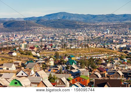 Ulan-ude City In Russia