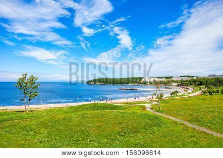 Russky Island Near Vladivostok
