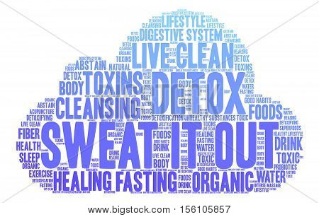 Sweat It Out Word Cloud