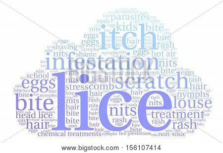 Lice Word Cloud