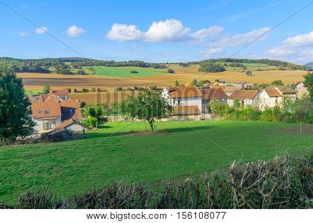 Countryside In Cote Dor, Burgundy