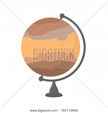 Jupiter School Globe. Planet Geographical Sphere. Model Huge Planet. Astronomical Objects Or Celesti