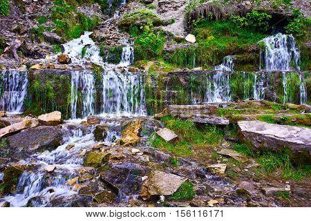 Slavonic Springs in Izborsk, Pskov region, Russia