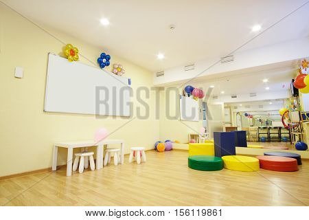 Interior of a children's room