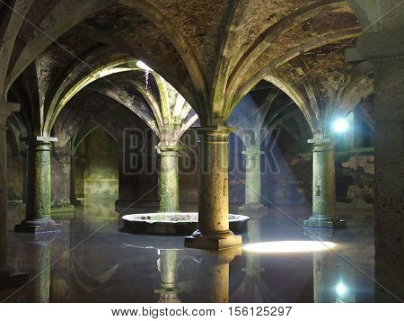 The Portuguese Cistern in El Jadida Mazagan, Morocco