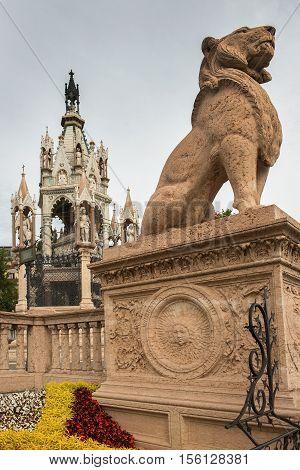 Brunswick Monument, mausoleum in Geneva, Switzerland to commemorate the life of Charles II, Duke of Brunswick