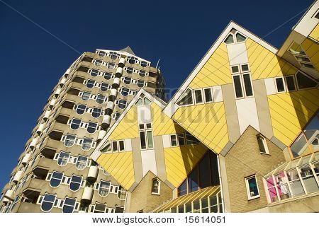 experimental cube houses