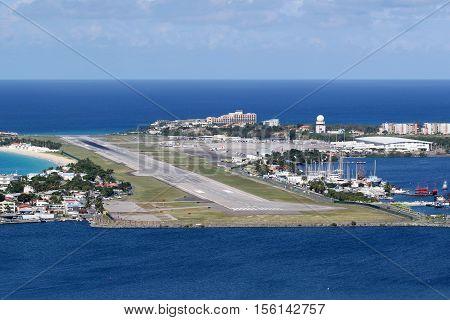 Sint Maarten St. Martin Airport Caribbean