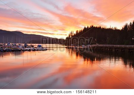 Deep Cove Sunrise, North Vancouver