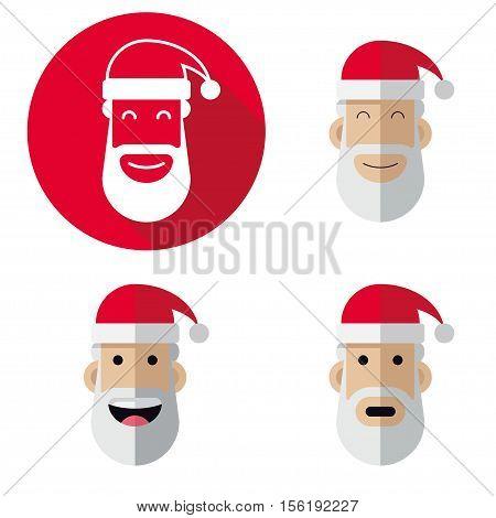 Icon Of Santa Claus