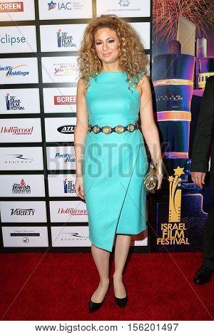 LOS ANGELES - NOV 9:  Miri Ben-Ari at the 30th Israel Film Festival Anniversary Gala Awards Dinner at Beverly Wilshire Hotel on November 9, 2016 in Beverly Hills, CA