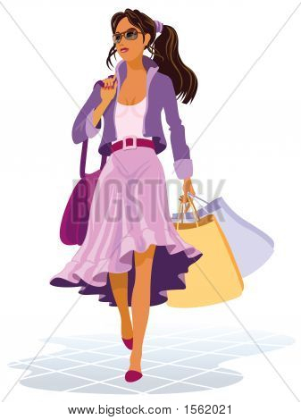En sus compras