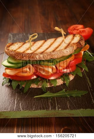 Healthy Whole Wheat Sandwich