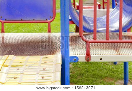 Colorful Outdoor Childhood Recreation Playground Equipment