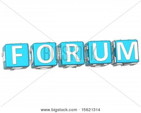 Forum Cube Text