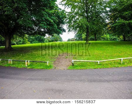 Hdr Alexandra Park In Bath