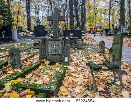 Autumn On The Cementary