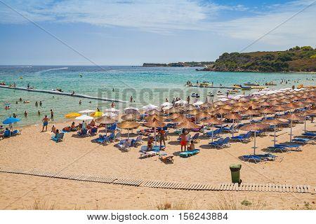 Agios Nikolaos Beach, Greek Island Zakynthos