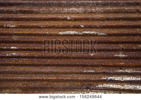 Old and dirty galvanized iron for background