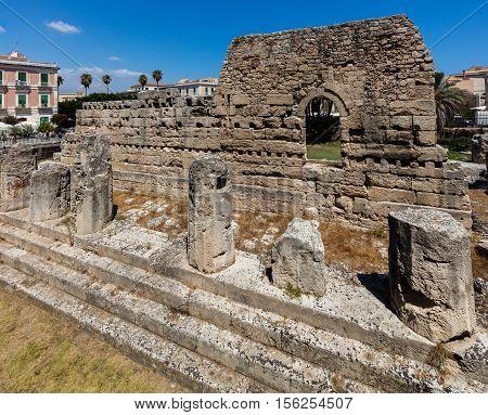 Ruins Of The Temple Of Apollo