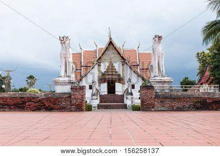 Wat Phumin - Nanpublic temple in thailand
