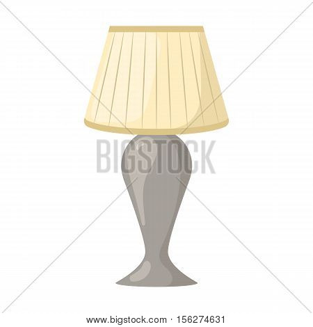 Table lamps icon. Vector illustration in cartoon style