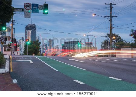 Brisbane, Australia - 12Th November, 2016: View In The Late Afternoon Of Brisbane City From Gladston