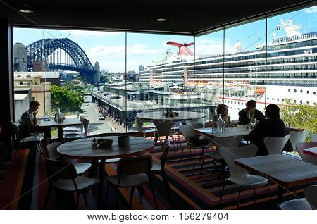 Sydney Cove Passenger Terminal New South Wales Australia