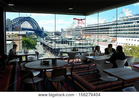 Sydney Cove Passenger Terminal New South Wales Australia