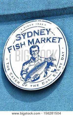Sydney Fish Market Sydney New South Wales Australia