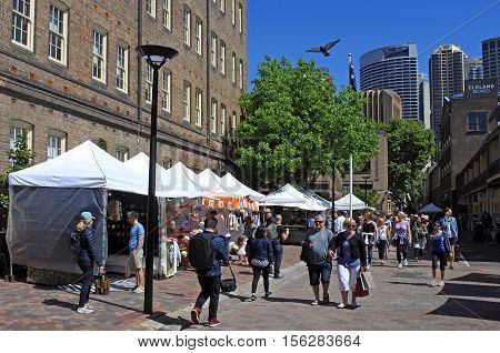 The Rocks Markets In Sydney Australia